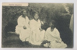 FAMILLE ABYSSINE - Gros Plan - Edition J. A. Michel à Addis Ababa - Ethiopie - Animée - Ethiopia