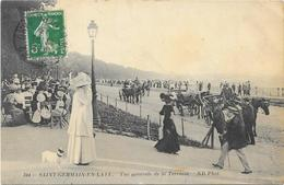 SAINT GERMAIN EN LAYE :  VUE GENERALE DE LA TERRASSE - St. Germain En Laye