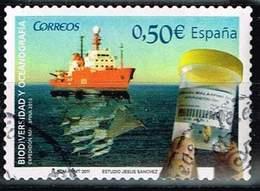 Spanien 2011,Michel# 4578 O Biodiversity And Oceanography - 1931-Oggi: 2. Rep. - ... Juan Carlos I