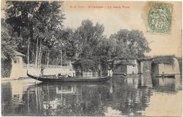 VILLENNES : LE VIEUX PONT - Villennes-sur-Seine