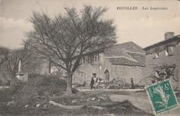 CPA 13 EGUILLES LES LOGISSONS CHARRETTE   PEU COURANTE - France