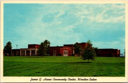 North Carolina Winston Salem James G Hanes Community Center - Winston Salem