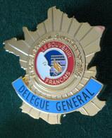 Insigne Association Civile Du  SOUVENIR FRANCAIS - Président De Comité - - Ohne Zuordnung