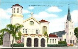 Florida West Palm Beach St Ann's Church - West Palm Beach