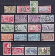 BERMUDA 1953, SG# 135-150, CV £40, Maps, Birds, Ships, Used - Bermuda