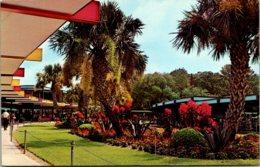Florida Silver Springs Main Administration Building Garden Area - Silver Springs