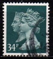 Gran Bretagna - Machin 34 P. Anniversario Del Penny Black - 1952-.... (Elizabeth II)