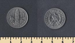 Guatemala 10 Centavo 1991 - Guatemala