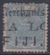 Fidji N° 6 O 1 P. Bleu Dentelure Médiocre, Oblitération Moyenne SinonTB - Fidji (...-1970)