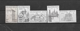 België  1988 Y&T 2288/92 (**) 50% - Ungebraucht