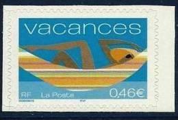 """FR Adhesif YT 33 Ou YT 3494 """" Pour Vacances """" 2002 Neuf** - France"""