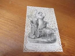 Holy Card Lace, Kanten Prentje, - Andachtsbilder