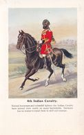 4th Indian Cavalry Mounted Soldier Army Gale & Polden Postcard - Non Classificati