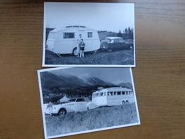 2 Postkaarten Met Caravans (zie Foto's) --> Onbeschreven - Postcards