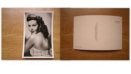 Movie Star Echte Foto Nieuwe Merksemsche Chocolaterie  Ann Miller   MGM - Künstler