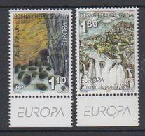 "Europa Cept 2001 Bosnia/Herzegovina Mostar 2v ""Europa"" In Margin   ** Mnh (47729) - 2001"