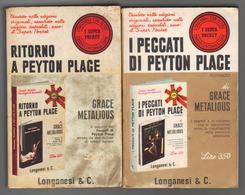 I Peccati Di Peyton Place - Ritorno A Peyton Place, Grace Metalious - Longanesi 1967 - 1969 LIB00018 - Books, Magazines, Comics