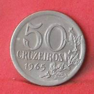 BRAZIL 50 CRUZEIROS 1965 -    KM# 574 - (Nº35505) - Brasil