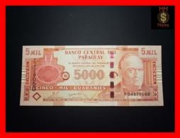 PARAGUAY 5.000 5000 Guaranies 2010    P. 223 C  Unc - Paraguay