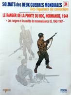 Revue Figurine, Soldat De Plomb. Collection DelPrado 2 Guerres Mondiales N° 34 - Ranger Pointe Du Hoc, Normandie 1944 - Loden Soldaatjes