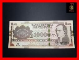 PARAGUAY 10.000 10000 Guaranies 2010  P. 224 D  UNC - Paraguay