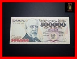 POLAND 500.000 500000 Zlotych 16.11.1993 P. 161  UNC - Poland