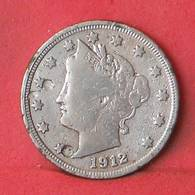USA 5 CENTS 1912 -    KM# 112 - (Nº35510) - EDICIONES FEDERALES