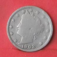 USA 5 CENTS 1902 -    KM# 112 - (Nº35511) - EDICIONES FEDERALES