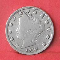 USA 5 CENTS 1910 -    KM# 112 - (Nº35512) - EDICIONES FEDERALES