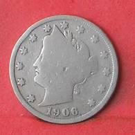 USA 5 CENTS 1906 -    KM# 112 - (Nº35513) - EDICIONES FEDERALES