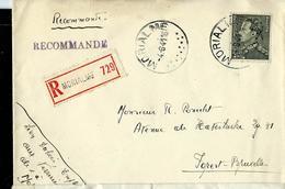 Doc. De MORIALME 04/06/41  Avec Poortman N° 530   En Rec. - Poststempel