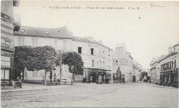 VITRY SUR SEINE : PLACE ET RUE SAINT AUBIN - Vitry Sur Seine
