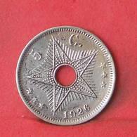 BELGIAN CONGO 5 CENTS 1926 -    KM# 17 - (Nº35518) - Congo (Belga) & Ruanda-Urundi