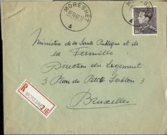 Doc. De MORESNET  16/10/62   Avec Poortman N° 848A   En Rec. - Postmark Collection