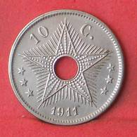 BELGIAN CONGO 10 CENTS 1911 -    KM# 18 - (Nº35520) - Congo (Belga) & Ruanda-Urundi