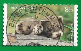 BRD 2017  Mi.Nr. 3294 , Tierkinder - Iltis - Selbstklebend / Self-adhesive - Gestempelt / Fine Used / (o) - Used Stamps