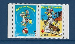 "FR YT P3547A Paire "" Fête Du Timbre Lucky Luke "" 2003 Neuf** - France"
