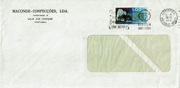 Mechanical Meter , STOP PARAGEM OBRIGATÓRIA , 1972 Póvoa De Varzim  Postmark , MACONDE CONFECÇÕES Vila Do Conde - Postmark Collection