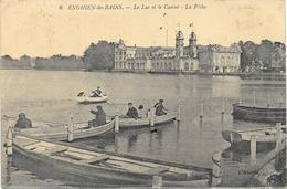 ENGHIEN LES BAINS : LA PECHE - Enghien Les Bains