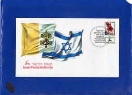 ##(DAN205)-Israel 1993- Israel-Holy See A Fundamental Agreement Commemorative Cover - Non Classés