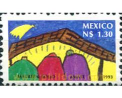 Ref. 627165 * MNH * - MEXICO. 1993. CHILDREN'S DRAWING . DISEÑO INFANTIL - México