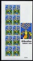 Europa CEPT Gibraltar 2000 Y&T N°911 - Michel N°905 *** - Feuillet - 2000