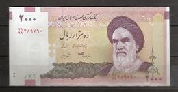 IRAN. 2000 Rls. Préfixe 99. Série 78.  Replacement. - Iran