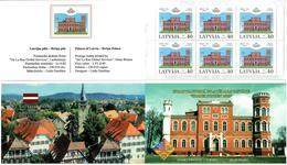 Latvia 2003 . Sindelfingen 2003.Birinu:40. Bklt Of 6.Top/bot Imp . Michel # 597D  MH - Lettonie