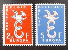 BELGIQUE    Europa 1958   N° Y&T  1064 Et 1065  ** - Unused Stamps