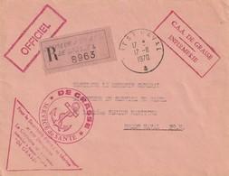 13262 DE GRASSE - Croiseur Anti-Aérien - Service De Santé - Infirmerie - BREST NAVAL - 1970 - Poste Navale