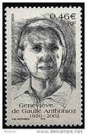 "FR YT 3544 "" G. De Gaulle Anthonioz "" 2003 Neuf** - France"