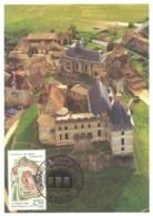 CARTE MAXIMUM CHATEAU DE BIRON DORDOGNE 1992 - Cartoline Maximum