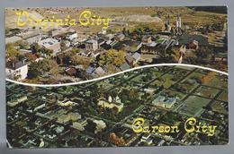 US.- NEVADA. VIRGINIA CITY & CARSON CITY. 1969 - Etats-Unis