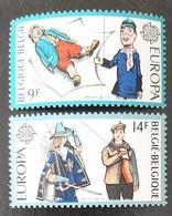 BELGIQUE    Europa 1981   N° Y&T  2006 Et 2007  ** - Ungebraucht